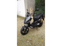 2013 PGO SCOOTER PMX NAKED CARBON LIMITED EDITION MODEL MEGA LOW MILES ONLY 930 LITERALLY AS NEW