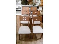 House clearance Dining room chairs (Six off)
