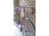 Puch Cycle gents styr daimler puch racing/touring cycle , 14 speed , special pedals & seat schwabtyr
