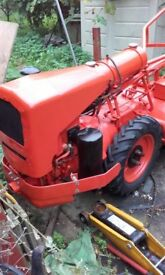 Howard Gem Diesel Rotavator with Sachs Single Cylinder Water Cooled Engine.