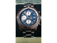 BREITLING COLT CHRONOGRAPH AUTOMATIC Watch A1338811 Blue Face