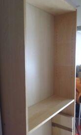 Large bookcase (very minor damage) 6 shelves