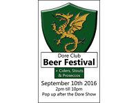 Beer Festival 10th Sept 2016