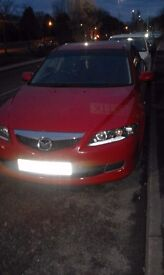 Mazda 6 for sale, in good condition, Mot ends 06/17