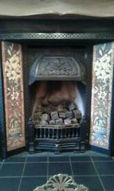 Traditional Cast Iron Fire Place