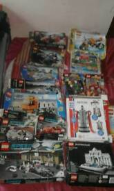 Lego sets job lot over 20 plus complete n boxes