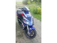 Piaggio NRG Power 2007 50cc moped Derestricted