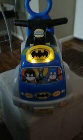 Fisher Price Batman Sit n Ride.
