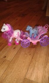 Ponies with carriage
