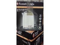 "BRAND NEW !!! Electric KETTLE "" Russell Hobbs "" 1.7L COLOURS"