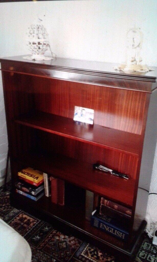Stag Mahogany bookcase