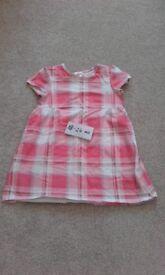 H&m summer gilrs dress18-24 months