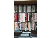 Over 50 cassettes of 90s bollywood soundtracks in great condition.