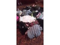 kids hats and gloves 1 each