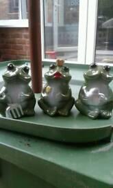 Garden frog ornaments