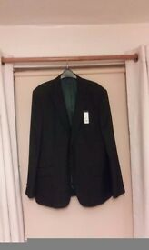 Linia suit jacket brand new black size 44r