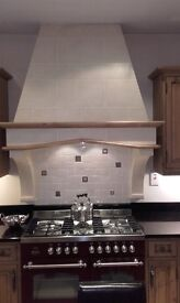 Brittania Fleet Dual Fuel Range Cooker Gas Hob and Electric Ovens