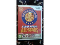 Super Mario All Stars Wii Game
