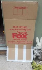 GOOD CONDITION STRONG MOVING BOXES 50+