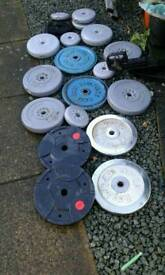 Weights mixed 100 kg off