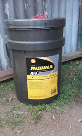 Shell Rimula RT4X 15W-40 engine oil - Approx 17L