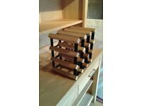 Industrial looking wine racks for sale