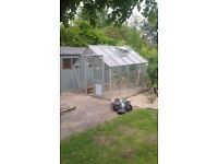 greenhouse 8x6 £160 deliverd and erected at your place