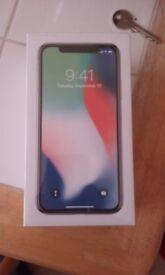Iphone x 64 gb sealed brand new