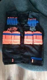 Nerf Tactical Vest + Ammo