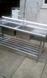 industrial sink in good condition
