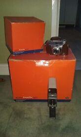 Agfa family print set plus antique cine and kodak cameras