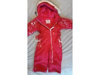 All in one suit for toddler girl 1-2 years old
