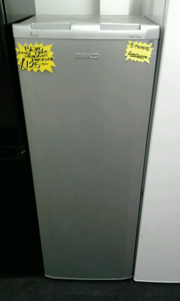 BEKO SILVER FROST FREE UPRIGHT FREEZER