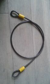D lock and Rope Lock for sale £20