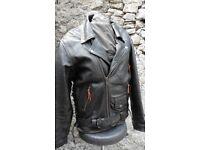 Vintage 1984 JTS Marlon Brando Leather Jacket