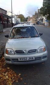 Nissan Mircra Vibe (2002) in mint green for sale (North Leeds)