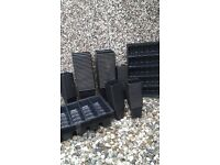 POLYTHENE SEED/ PLANT POTS AND TRAYS