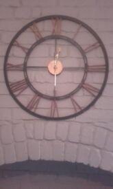 Clock, works fine.