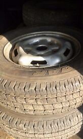 ford transit wheels tyres