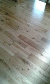 LAMINATE FLOORING / REAL WOOD SUPPLIED & FITTED (SAMPLES AVAILABLE)