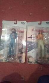 Cheech and chong dolls in box never opened