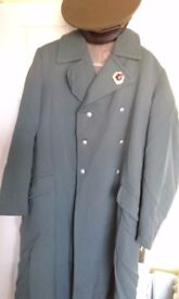 Russian Military Coat and Hat