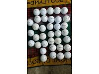 36 TAYLOR MADE GOLF BALLS MIXED