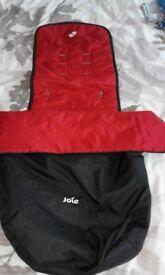Red & Black footmuff