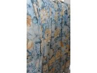 Pair of tailor made curtains, never used