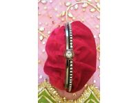 NEW Designer BETH JORDAN Luxury Red Velvet & Diamanté Bag / Purse/ Clutch Bag/ Handbag/ Christmas