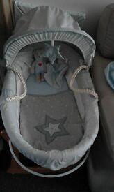 Mamas and papas moses basket and stand