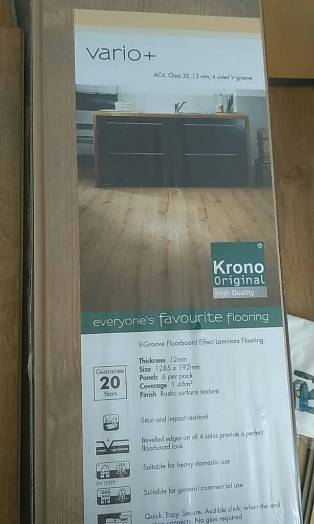 Laminate Flooring Kronospan 12mm Thick