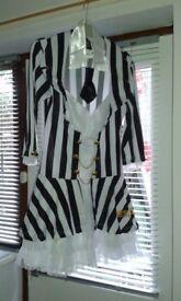 Beetlejuice Fancy Dress Costume