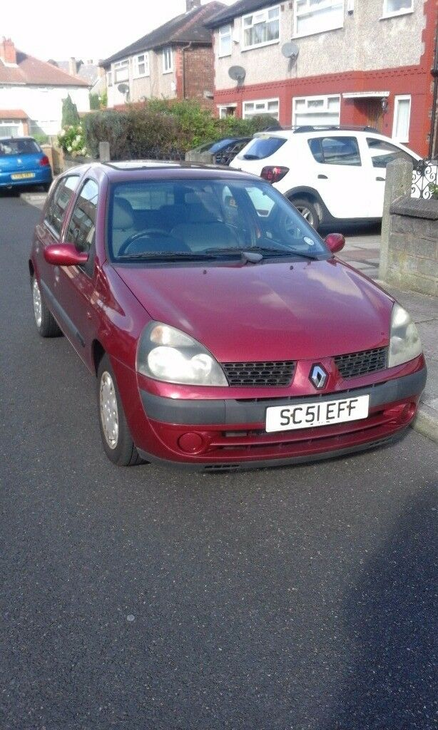 Renault Clio 51 plate
